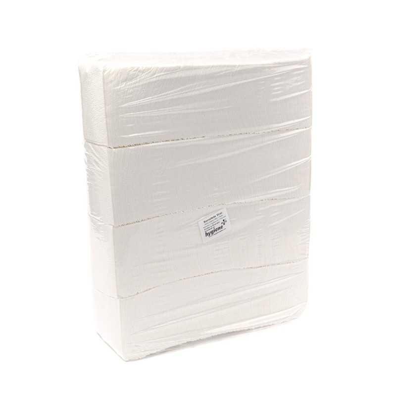 Servetele masa albe 1 strat 25x25cm vrac 2kg