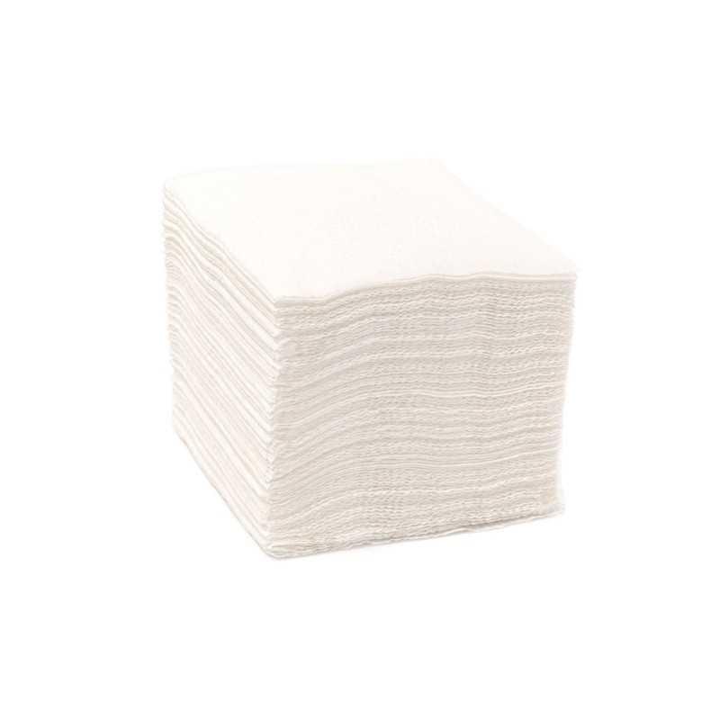 Servetele masa albe 1 strat 33x33cm vrac 5kg