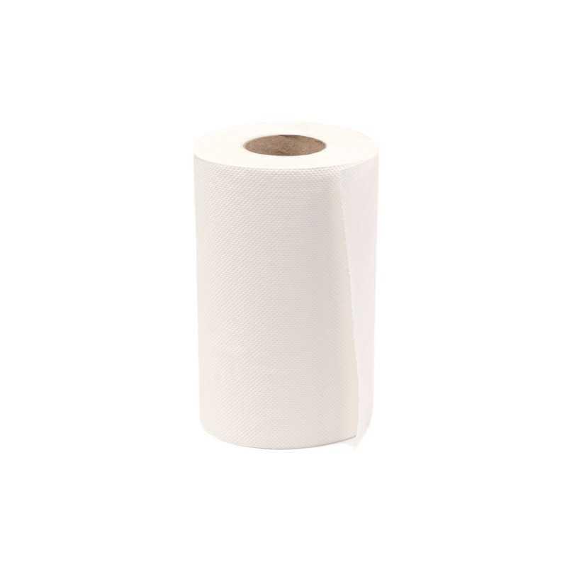 Prosoape hartie alb mini jumbo 70m 2 straturi, 12 role/bax