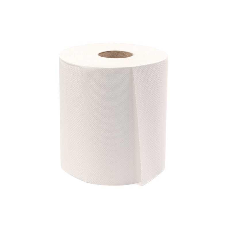 Prosoape hartie alb maxi jumbo 100m 2 straturi, 6 role/bax
