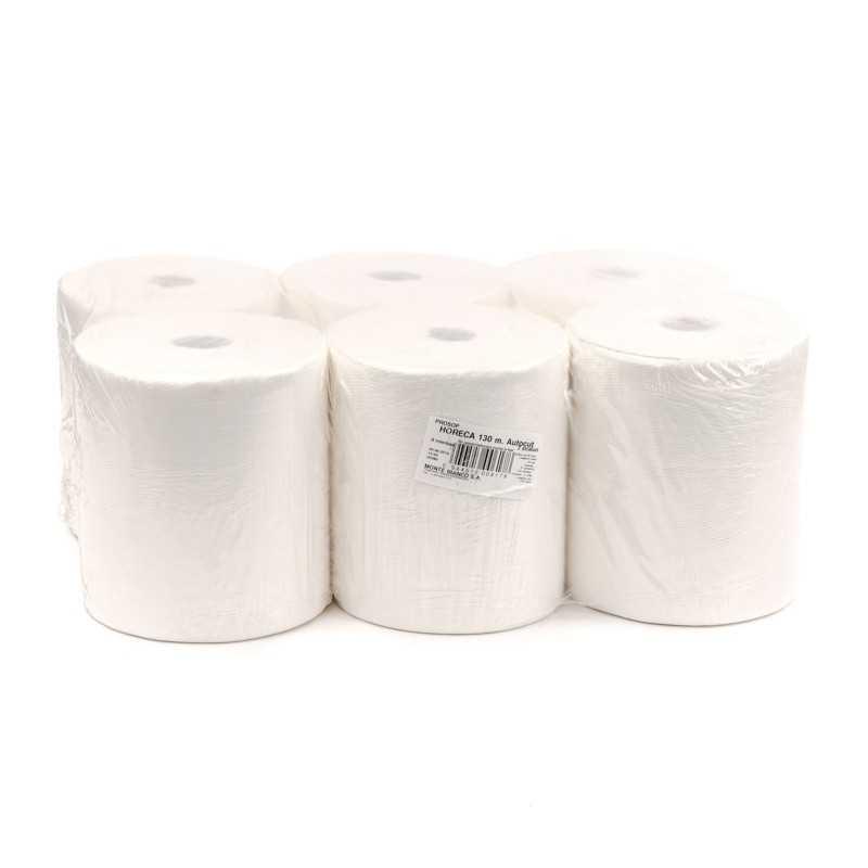 Prosoape hartie alb maxi jumbo 140m 2 straturi, 6 role/bax