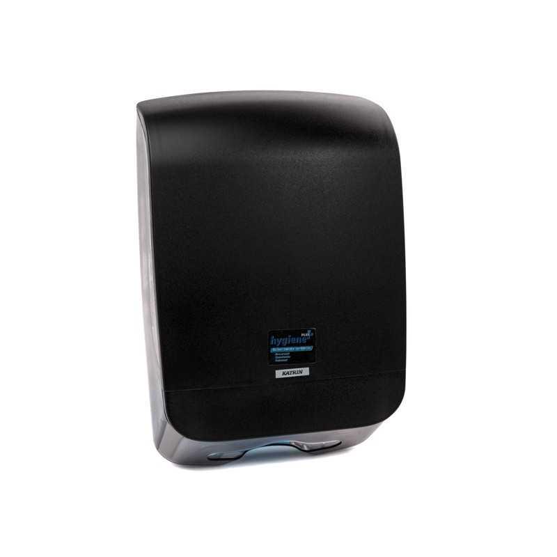 Dispenser prosoape pliate Z plastic ABS Katrin negru 92087
