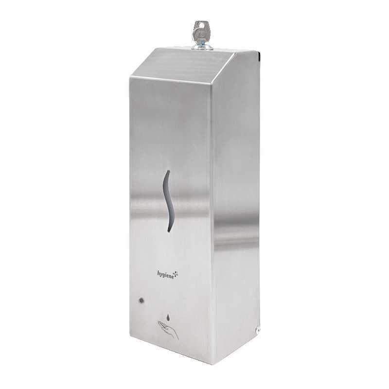 Dispenser cu senzor inox dezinfectant/sapun lichid cu tank 1000ml.
