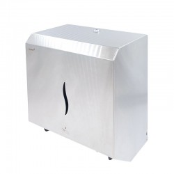 Dispenser inox rulou prosop...