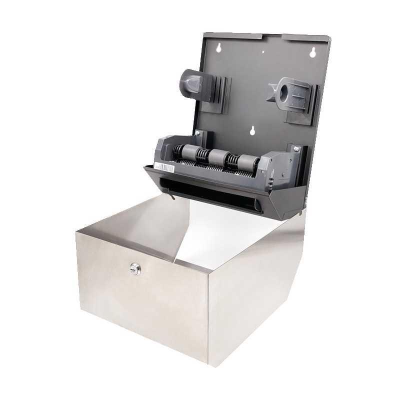 Dispenser inox rulou prosop cu senzor auto-cut